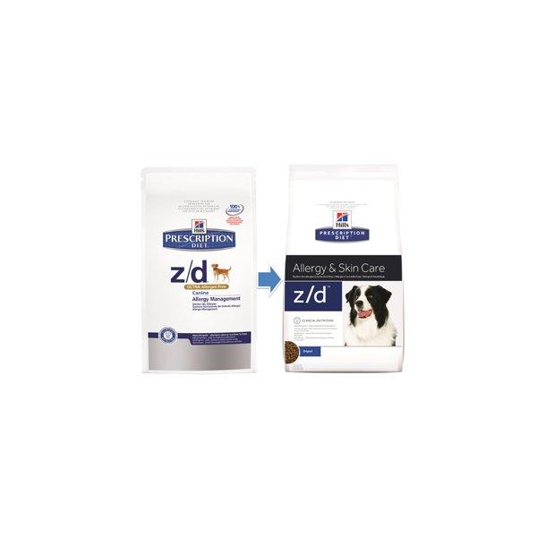 Canine z/d Allergy & Skin Care, 3 kg.