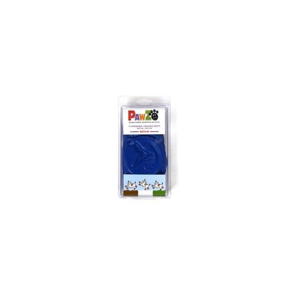 Pawz hundesko, Medium, 7,6 cm (blå)