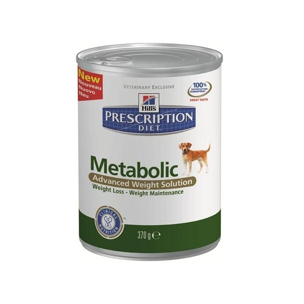 Metabolic Canine 12 x 370 gr dåser.