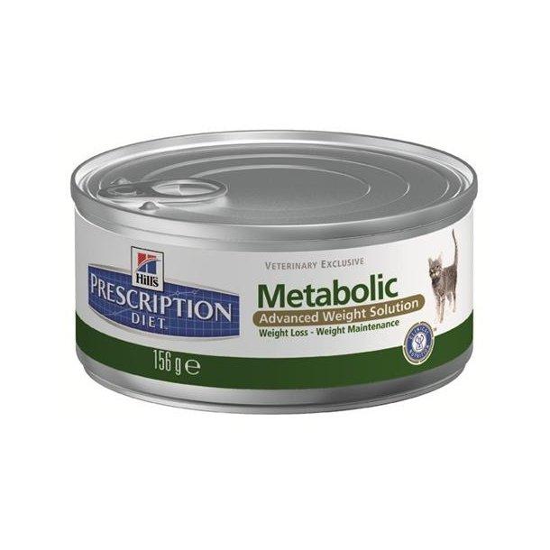 Nyhed: Metabolic Feline 24 x 156 gr dåser.