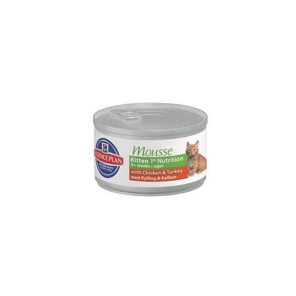 Hills Science Plan Kitten Mousse Vådfoder 24x85g